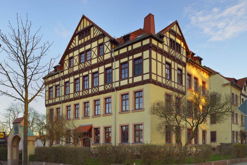 Wohnkomplex an der Altchemnitzer Straße