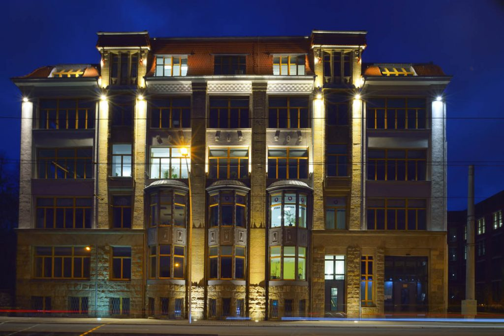 ehemaliger Fabrikkomplex der Maschinenfabrik Schubert und Salzer