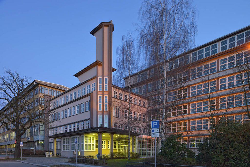 ehemaliges Firmengebäude der Astrawerke Chemnitz